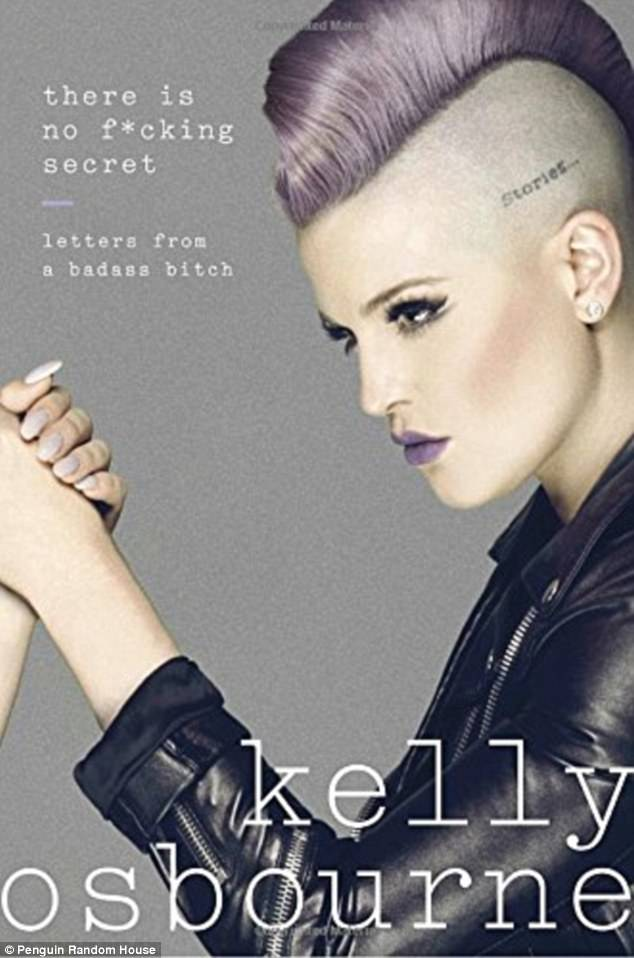 Hits shelves on April 25! Kelly Osbourne detailed her struggle with stage III neurological Lyme disease in her first memoir There's No F***ing Secret: Letters From a Badass B****