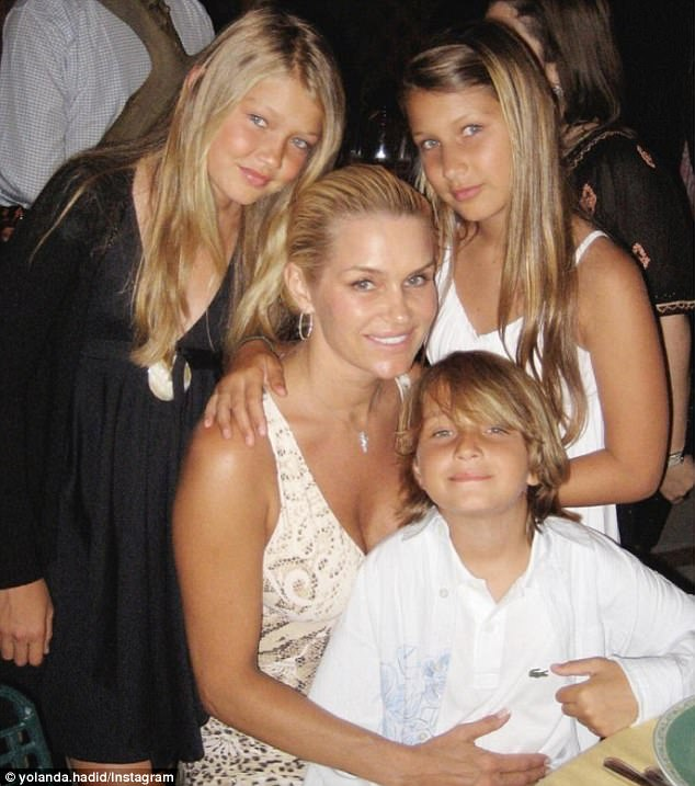 Yolanda, who is mom to Gigi, Bella and Anwar Hadid from her marriage to Mohamed Hadid, insists motherhood is the best thing to happen to her