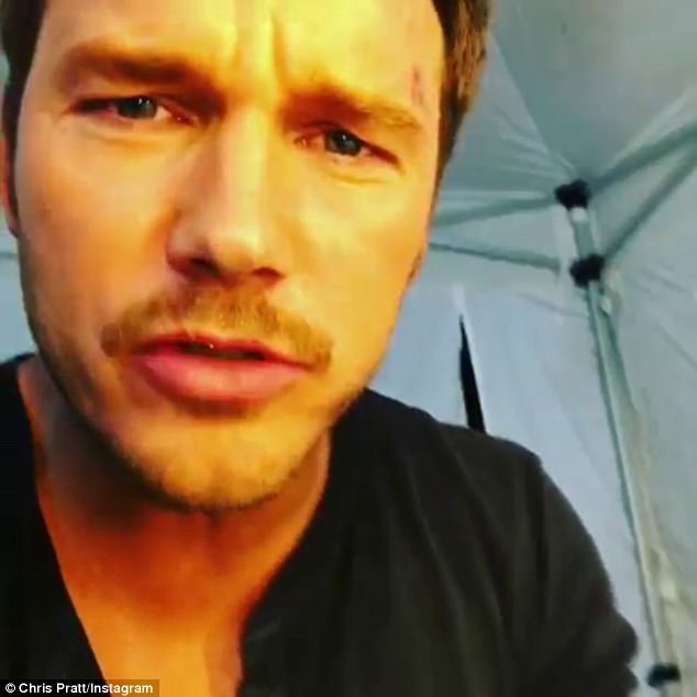 C-Bomb in the house:Chris Pratt has made his way as an actor. But on Wednesday the 37-year-old star proved that he has some singing skills as well