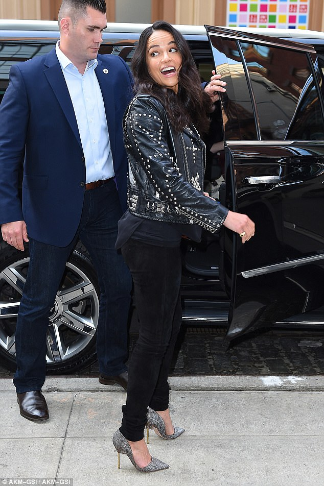 Last word: She looked back over her shoulder before getting into the limo