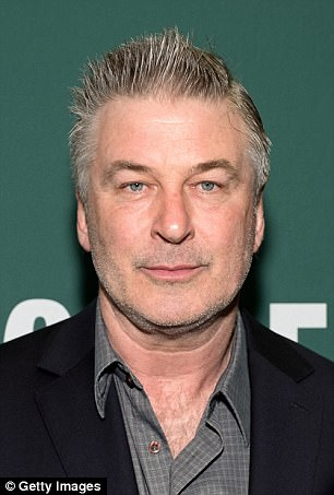 Alec Baldwin promotes his book 'Nevertheless: A Memoir' at Barnes & Noble Union Square in Manhattan