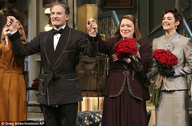 Having a Wanda: The show's leading man is comedy star Kevin Kline