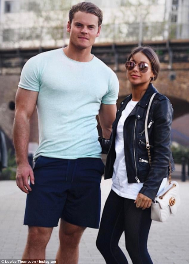 True love:After dating stars including Jamie Laing, Andy Jordan and Alik Alfus, she recently found love with personal trainer Ryan who she kept secret for five months after falling for him over gym sessions