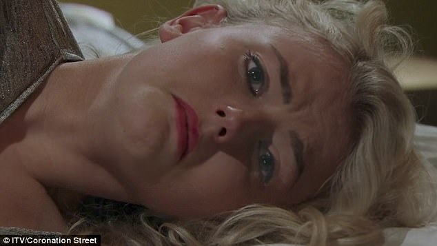 Upsetting: Turning her around and easing her to lie facing away from him, Neil then began a countdown, as Bethany lay with tears welling up in her eyes.