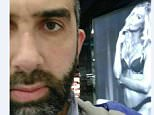 Sheikh Zaid Alsalami's WhatsApp image featuring a woman at the airport and sleazy messages