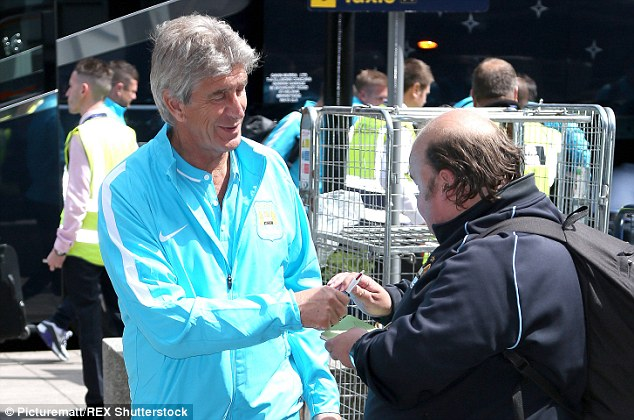 City boss Manuel Pellegrini is looking to bolster his attacking options ahead of the new season