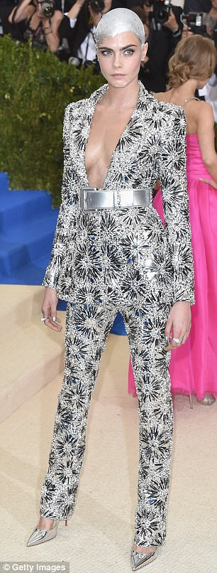 Risktakers! Both Cara and Jemima rocked Chanel, both opting for much more avant-garde looks than Lily Rose