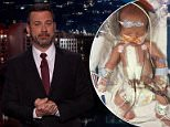 Jimmy Kimmel opened his show on Monday with the news that his wife Molly had given birth to their second child, William 'Billy' Kimmel, on April 21 in Los Angeles