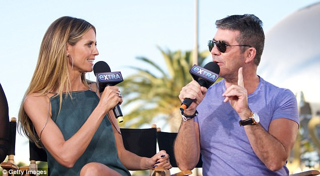 Fun dynamic: The pair proved to be very chatty as they discussed the new series of AGT