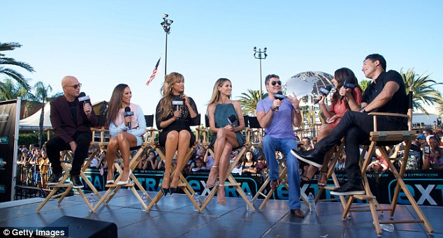 Line-up: He was joined by fellow AGT judges - Howie Mandel, Mel B, Heidi Klum, as well as brand new host Tyra Banks
