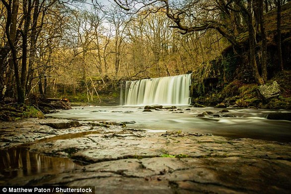 Chis Evans launched Waterfall Ways, an events and catering company based in South Wales