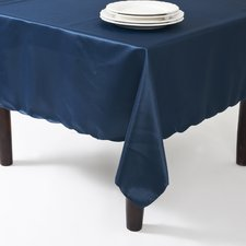 Satin Scalloped Edge Table Cloth Liner