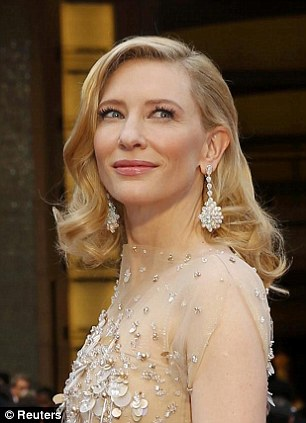 Cate Blanchett wore expensive Chopard earrings