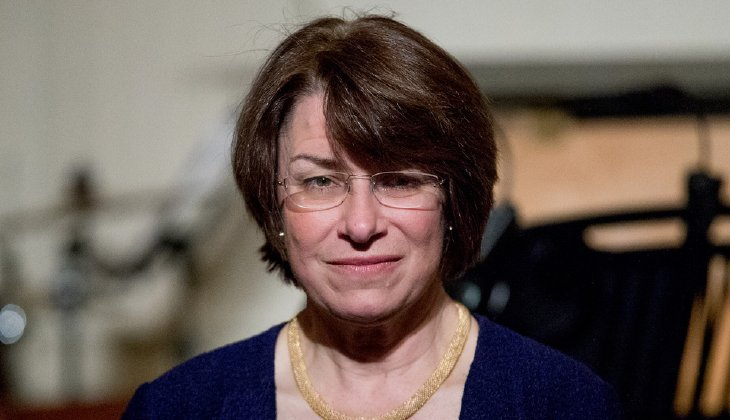 Klobuchar is only the latest high-profile Democrat to be mentioned as a 2020 possibility. (AP Photo/Andrew Harnik)