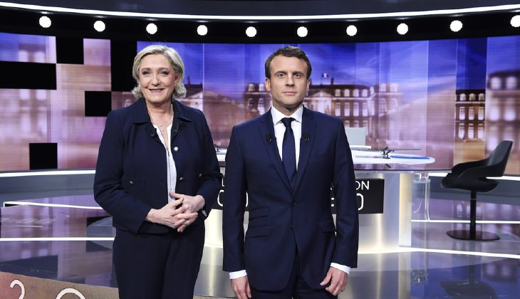 To win, Le Pen needed a good number of killer blows. She didn't get them. (Eric Feferberg/Pool Photo via AP)