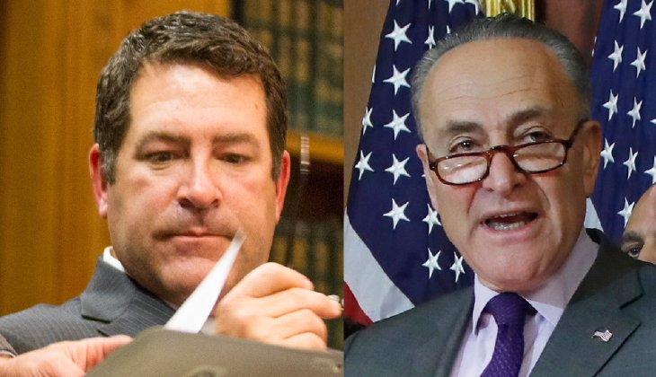 The New York senator became the highest ranking Democrat in Congress to oppose Tennessee state Sen. Mark Green, whose nomination appeared in jeopardy this week amid rising opposition. (AP)