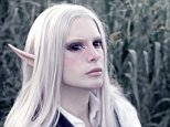 Luis Padron, 25, from Buenos Ares, Argentina, became obsessed with the world of elves, angels and fantasy beings after being bullied as a child