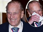 The Duke of Edinburgh speaking to guests after attending the Order of Merit service at Chapel Royal in St James's Palace, London . PRESS ASSOCIATION Photo. Picture date: Thursday May 4, 2017. See PA story ROYAL Duke. Photo credit should read: John Stillwell/PA Wire