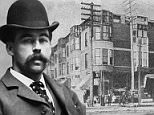 Dr Henry H. Holmes, an infamous killer and conman in Chicago in the 19th century, was hanged on May 7, 1896 in Philadelphia after a life of horrific crimes