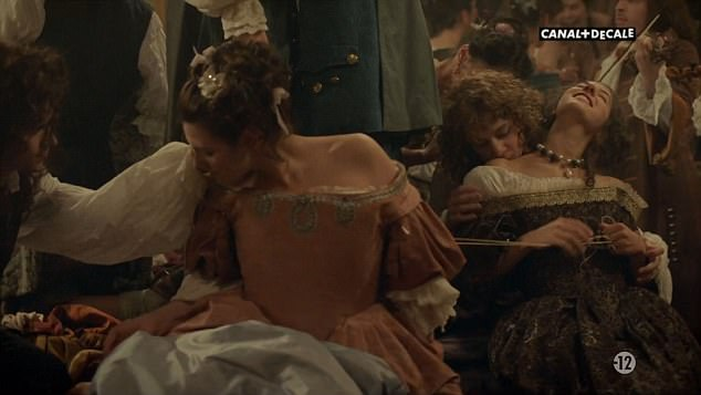 Sacré bleu!Series one shocked viewers with its explicit sex scenes. But judging by the latest sneak peek of season two of BBC drama Versailles, things are about to get a whole lot racier