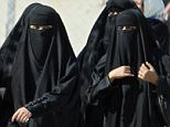 Saudi Arabia is well known to be one of the world's most gender-segregated nations, where women live under the supervision of a male guardian, cannot drive, and in public must wear head-to-toe black garments (file photo)