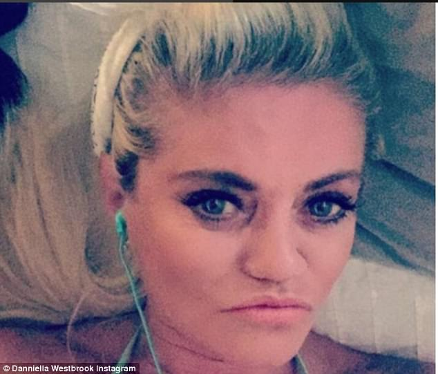Holding out:The 43-year-old former EastEnders star has suffered a long and well-publicised battle with addiction ever since soaring to fame nearly three decades ago when she scored an winning role in the soap as Sam Mitchell