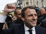 A large trove of emails purporting to be from Emmanuel Macron's presidential campaign was posted online tonight