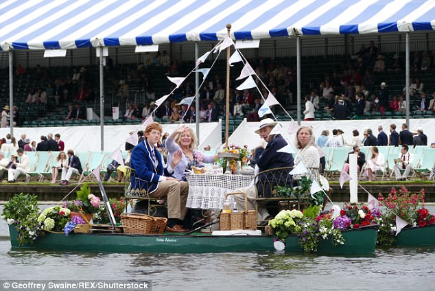 Henley-on-Thames has more Hooray Henrys per square foot than anywhere on Earth