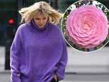Television presenter Kate Thornton cut a forlorn figure as she arrived at Radio 2 in London to stand in for Zoe Ball on her show.