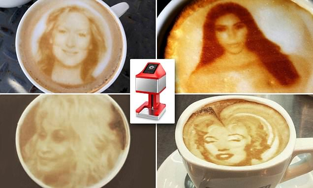 The hot gadget to help selfie fans espresso snapuccinos