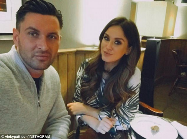 Love of her life: Former Geordie Shore star, Vicky Pattison, 29, has revealed that she is ready to settle down with her beau John Noble