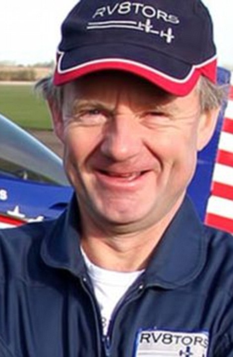 Miraculously, the pilot Andy Hill (pictured), who flies for British Airways, was pulled from the flaming wreckage of his jet and flown by air ambulance to hospital