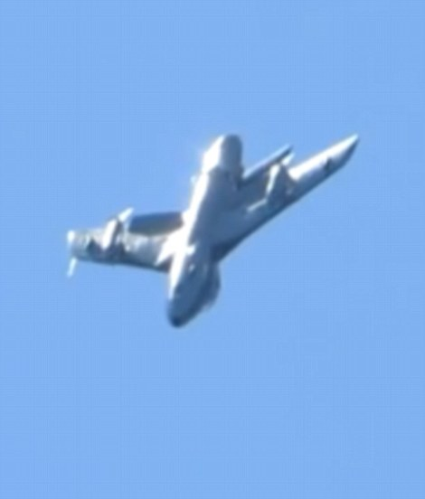 Witnesses have described seeing the jet stall during a loop-the-loop stunt at the airshow and fail to complete the manoeuvre
