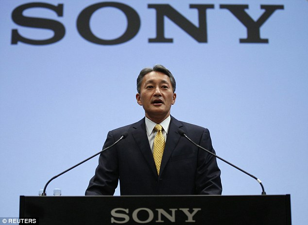 Exposed: The new round of leaks promised to be more damaging than those before. Pictured is Sony Corporation CEO Kazuo Hirai