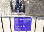 Pupils from just ten private and grammar schools, including Sevenoaks School in Kent (pictured), are 100 times more likely to apply to elite graduate recruitment schemes than their peers who were educated in the bottom ten per cent of schools