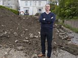 Businessman Chris Lodge spent thousands of pounds digging out his front garden seven years ago