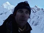 Nepalese officials discovered South African Ryan Sean Davy (pictured above) in his hideaway after he had climbed more than 20,000 feet