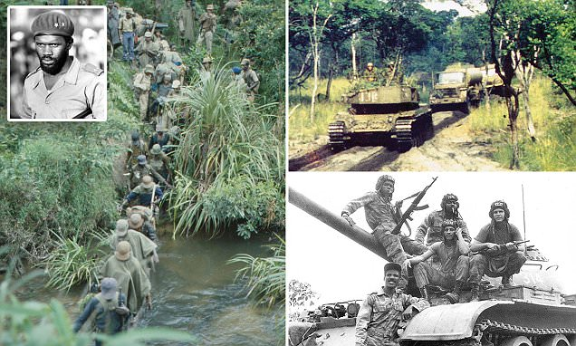 Photos show US-backed troops fighting Communists in Angola