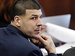 FILE - In this March 15, 2017, file photo, Defendant Aaron Hernandez listens during his double murder trial in Suffolk Superior Court, in Boston. A judge is set to hear arguments in a push by lawyers for former NFL star Aaron Hernandez to erase his conviction in a 2013 murder. The former New England Patriots tight end hanged himself in his prison cell April 19 while serving a life sentence in the killing of semi-professional football player Odin Lloyd. (AP Photo/Elise Amendola, Pool, File)