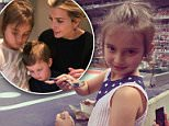 Ivanka Trump posted a photo of her daughter to twitter with the caption: 'Arabella's date with dad at the ballpark'