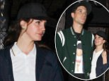 """*EXCLUSIVE* Hollywood, CA  - New Couple Lana Del Rey and G-Eazy spotted leaving """"Avenue"""" nightclub in Hollywood. Pictured: Lana Del Rey and G Eazy BACKGRID USA 8 MAY 2017 USA: +1 310 798 9111 / usasales@backgrid.com UK: +44 208 344 2007 / uksales@backgrid.com *UK Clients - Pictures Containing Children Please Pixelate Face Prior To Publication*"""