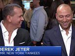 Derek Jeter and Alex Rodriguez sat down with Squack Alley at a BTIG global financial services company's 'Charity Day' in New York on Tuesday night to discuss their foundationsez