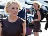 Keeping up with the Kardashians? A smiling Megyn Kelly was spotted in LA on Thursday