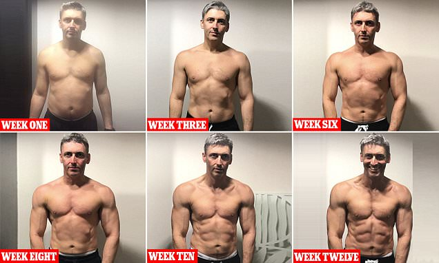 Ben Jackson from Warrington transforms his body in his 40s