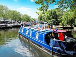 Relaxing:But running a canal boat comes with many costs