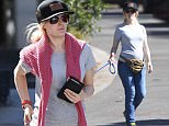 EXCLUSIVE: Heidi Montag shows off her baby bump while walking her Pomeranian on Saturday morning in Los Angeles. She visited a nail salon, Bed and Bath, and a pharmacy.\n<P>\nPictured: Heidi Montag\n<B>Ref: SPL1496487  140517   EXCLUSIVE</B><BR/>\nPicture by: REELPIX/Splash News<BR/>\n</P><P>\n<B>Splash News and Pictures</B><BR/>\nLos Angeles: 310-821-2666<BR/>\nNew York: 212-619-2666<BR/>\nLondon: 870-934-2666<BR/>\nphotodesk@splashnews.com<BR/>\n</P>
