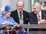 Prince Andrew (pictured with his parents) has emerged – unexpectedly – as a key figure in what is now known informally at Buckingham Palace as 'Team Windsor