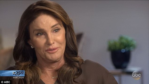 'This book is about honesty':Caitlyn confirmed during her interview with Diane Sawyer that she has undergone gender reassignment surgery