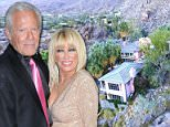 Suzanne Somers's - who played the lovable Chrissy Snow in the 1970s TV sitcom Three's Company - lavish 73-acre mountainside compound that she began building from scratch is being sold for $14.5 million