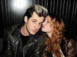Mark Ronson (L) and Josephine de la Baume attend Wyld Bar's James Small post-show party at W London-Leicester Square at the Wyld Bar on February 23, 2011 in London, England.  (Photo by Dave M. Benett/Getty Images)